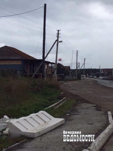 Реконструкция дороги в Белоярке вызвала возмущение жителей (ФОТО)